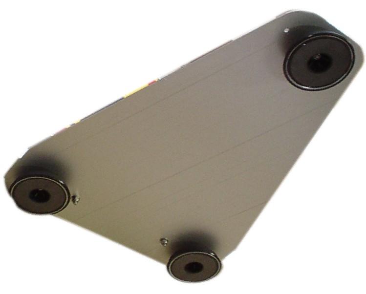 embase magn tique pour triangle 253900 embase pour triangle de 500 mm ou 700 mmm. Black Bedroom Furniture Sets. Home Design Ideas
