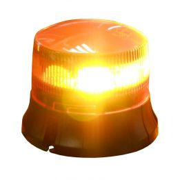 gyrophare led orange sur hampe