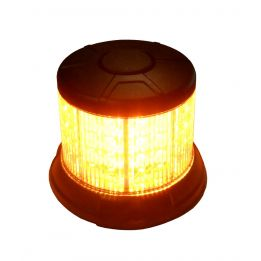 Gyrophare leds orange. Cabochon transparent 2